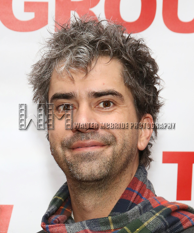 """Hamish Linklater attends The New Group presents the New York Premiere Opening Night of David Rabe's for """"Good for Otto"""" on March 8, 2018 at the Green Fig Urban Eatery,  in New York City."""