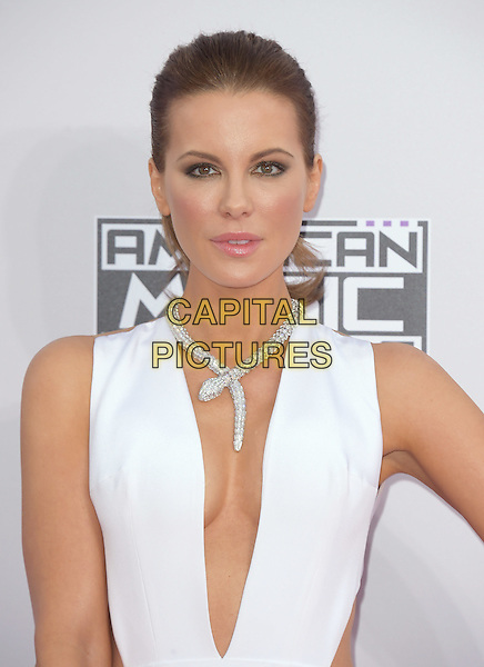 Kate Beckinsale at The 2014 American Music Award held at The Nokia Theatre L.A. Live in Los Angeles, California on November 23,2014                                                                                <br /> CAP/RKE/DVS<br /> &copy;DVS/RockinExposures/Capital Pictures
