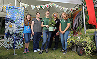 Pictured L-R: Elise Leadbeater, Susanne Davies, Candice Laroche, Liz Wistenley and Phoebe Williams Saturday 13 August 2016<br />