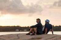 20140805 Vilda-l&auml;ger p&aring; Kragen&auml;s. Foto f&ouml;r Scoutshop.se<br /> scout, scouter, klippa, kv&auml;ll, moln, tr&auml;d, vatten, &ouml;