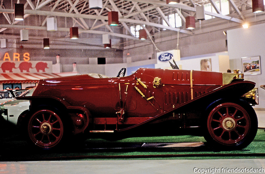 Classic Cars: 1914 Isotta-Fraschini, roadster.