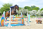 Class 5. British showjumping seniors. Brook Farm training centre. Essex. 13/05/2018. ~ MANDATORY Credit Garry Bowden/Sportinpictures - NO UNAUTHORISED USE - 07837 394578