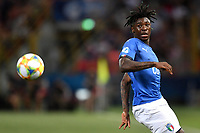 Moise Kean of Italy <br /> Bologna 16-06-2019 Stadio Renato Dall'Ara <br /> Football UEFA Under 21 Championship Italy 2019<br /> Group Stage - Final Tournament Group A<br /> Italy - Spain <br /> Photo Andrea Staccioli / Insidefoto