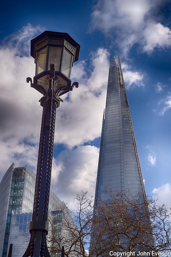 The Shard, an 87 storey skyscraper in London.