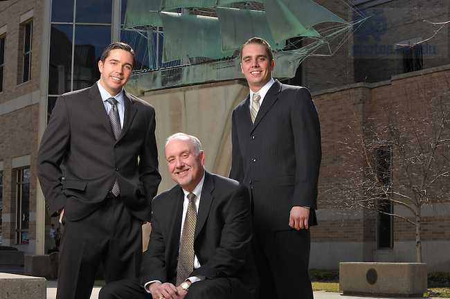 O'Halloran family, photographed for Mendoza College of Business..Photo by Matt Cashore/University of Notre Dame