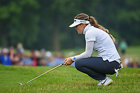 Hannah Green (AUS) contemplates her par putt on 18 to win the 2019 KPMG Women's PGA Championship, Hazeltine National, Chaska, Minnesota, USA. 6/23/2019.<br /> Picture: Golffile | Ken Murray<br /> <br /> <br /> All photo usage must carry mandatory copyright credit (© Golffile | Ken Murray)