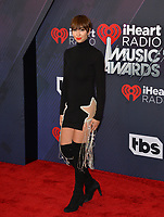 Jackie Cruz at the 2018 iHeartRadio Music Awards at The Forum, Los Angeles, USA 11 March 2018<br /> Picture: Paul Smith/Featureflash/SilverHub 0208 004 5359 sales@silverhubmedia.com
