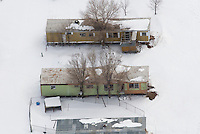 abandoned mobile homes