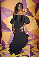 BEVERLY HILLS, CA - JANUARY 07: Actress Yvonne Orji arrives at HBO's Official Golden Globe Awards After Party at Circa 55 Restaurant in the Beverly Hilton Hotel on January 7, 2018 in Los Angeles, California.