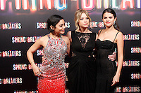 Vanessa Hudgens, Selena Gomez and Ashley Benson attends 'Spring Breakers' photocall premiere at Callao Cinema in Madrid, Spain. February 21, 2013. (ALTERPHOTOS/Caro Marin) /NortePhoto