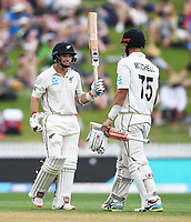 30th November 2019, Hamilton, New Zealand;  BJ Watling 50 not out on day 2 of 2nd test match between New Zealand and England,  International Cricket at Seddon Park, Hamilton, New Zealand.  - Editorial Use