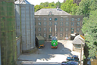 Laxey Glen Mills. Flour mill on the Isle of Man.