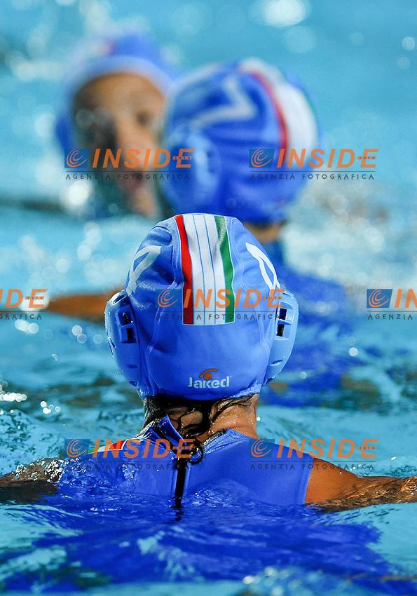 Roma 23st July 2009 - 13th Fina World Championships From 17th to 2nd August 2009.Water Polo Women's .ITA - CHN.CHINA.1 YANG Jun (C) GK R .2 TENG Fei D R .3 LIU Ping CB R .4 SUN Yu Jun D .5 HE Jin CF R .6 SUN Yating CF .7 ZHANG Lei D R .8 GAO Ao D R .9 WANG Yi D R .10 MA Huanhuan D R .11 SUN Hui Zi CB R .12 QIAO Lei Ying D L .13 WANG Ying GK R.Head Coach SHENGHUA Pan..ITALY.1 GIGLI Elena GK R .2 ABBATE Simona FP R .3 CASANOVA Elisa CF L .4 BOSURGI Silvia FP R .5 LAVORINI Daniela D R .6 GARIBOTTI Arianna FP R .7 di MARIO Tania (C) D R .8 BIANCONI Roberta FP R .9 EMMOLO Giulia D L .10 ROCCO Federica CB R .11 BOSELLO Annalisa CF R .12 FRASSINETTI Teresa CF R .13 GAY Eleonora GK R .Head Coach FIORI Roberto..photo: Roma2009.com/InsideFoto/SeaSee.com
