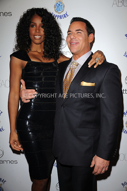 WWW.ACEPIXS.COM . . . . . ....January 20 2010, New York City....Singer Kelly Rowland and Scott Barnes arriving at the launch party for Scott Barnes' 'About Face' book at Provocateur at The Hotel Gansevoort on January 20, 2010 in New York City.....Please byline: KRISTIN CALLAHAN - ACEPIXS.COM.. . . . . . ..Ace Pictures, Inc:  ..tel: (212) 243 8787 or (646) 769 0430..e-mail: info@acepixs.com..web: http://www.acepixs.com