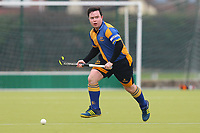 Upminster HC vs Old Southendian HC, East Region League Field Hockey at the Coopers Company and Coborn School on 13th January 2018