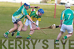 Kerry's Pat O'Keeffe fights for position in the Todd Nolan Munster Hurling Blitzin Causeway on Saturday .   Copyright Kerry's Eye 2008