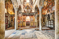 The church of Saint Dimitrios (Metropolis) in Mystras, Greece