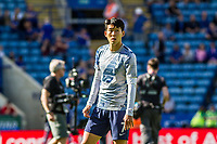 Heung-Min Son during the Premier League match between Leicester City and Tottenham Hotspur at the King Power Stadium, Leicester, England on 21 September 2019. Photo by James  Gill / PRiME Media Images.