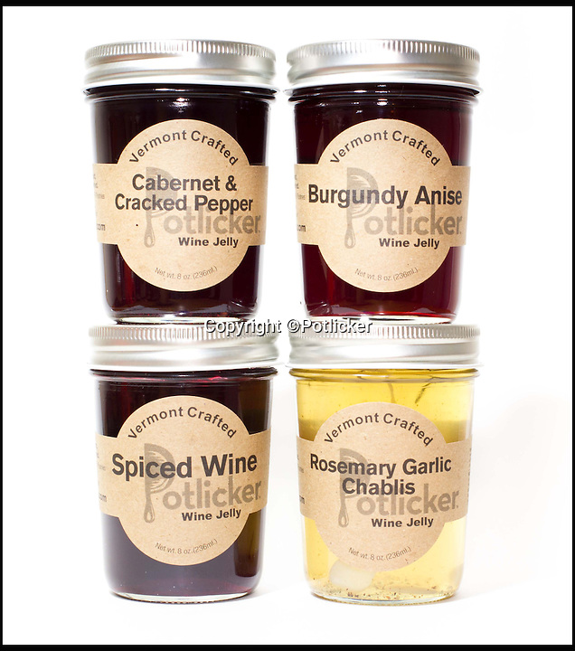 BNPS.co.uk (01202 558833)<br /> Pic: Potlicker/BNPS<br /> <br /> Start the day with a tasty tipple...<br /> <br /> Now you can pep up your breakfast toast with a tasty spread of plonk flavoured marmalade.<br /> <br /> Artisan food company Potlicker have created a eclectic range of jams and marmalade's with such tasty flavours as Rosemary & Garlic Chablis, Carbernet & cracked pepper and burgundy blood orange.<br /> <br /> Although they may not be the perfect hangover cure's the tasty preserves are flying off the shelves of the Vermont based company.
