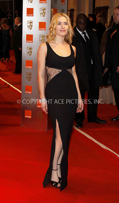 WWW.ACEPIXS.COM . . . . .  ..... . . . . US SALES ONLY . . . . .....February 21 2010, London....Kate Winslet at the Orange British Academy Film Awards (BAFTA's) on February 21 2010 in London......Please byline: FAMOUS-ACE PICTURES... . . . .  ....Ace Pictures, Inc:  ..tel: (212) 243 8787 or (646) 769 0430..e-mail: info@acepixs.com..web: http://www.acepixs.com