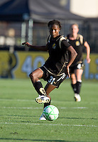 Formiga controls the ball. FC Gold Pride tied the Chicago Red Stars 1-1 at Buck Shaw Stadium in Santa Clara, California on June 7th, 2009.