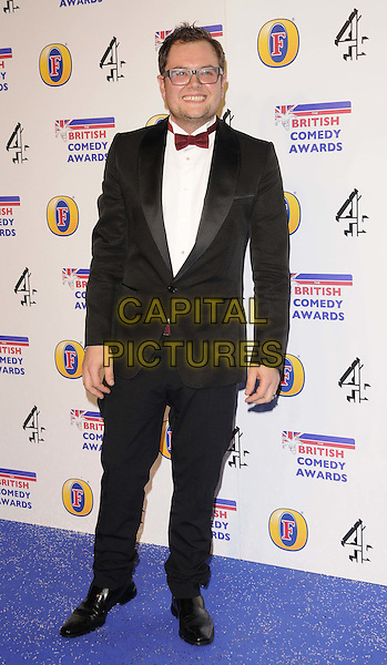 Alan Carr.The British Comedy Awards 2011 at the Fountain Studio's, Wembley, London, England..16th December 2011.arrivals full length black tuxedo white shirt glasses   .CAP/CAN.©Can Nguyen/Capital Pictures.