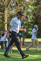 Bubba Watson (USA) departs the 18th tee during round 3 of the World Golf Championships, Mexico, Club De Golf Chapultepec, Mexico City, Mexico. 3/3/2018.<br /> Picture: Golffile | Ken Murray<br /> <br /> <br /> All photo usage must carry mandatory copyright credit (&copy; Golffile | Ken Murray)