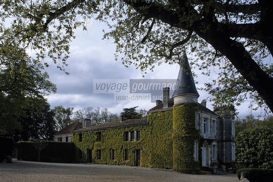 Europe/France/Poitou-Charentes/16/Charente/Cognac Camus: Château du Plessis à Saint Sulpice de Cognac