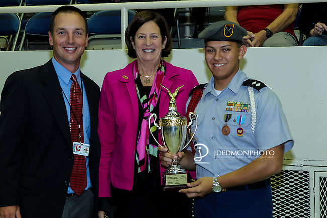 2015 CMS ROTC Awards ceremony held at Bojangles Coliseum. Sponsored by AT&T and Carolinas Freedom Foundation.