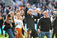 Jonjo Shelvey of Newcastle United waves to fans during Newcastle United vs Chelsea, Premier League Football at St. James' Park on 13th May 2018