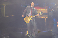 Midge Ure perfuming on stage during the Ryder Cup Gala Concert 2014 at SSE Hydro on Wednesday 24th September 2014.<br /> Picture:  Thos Caffrey / www.golffile.ie