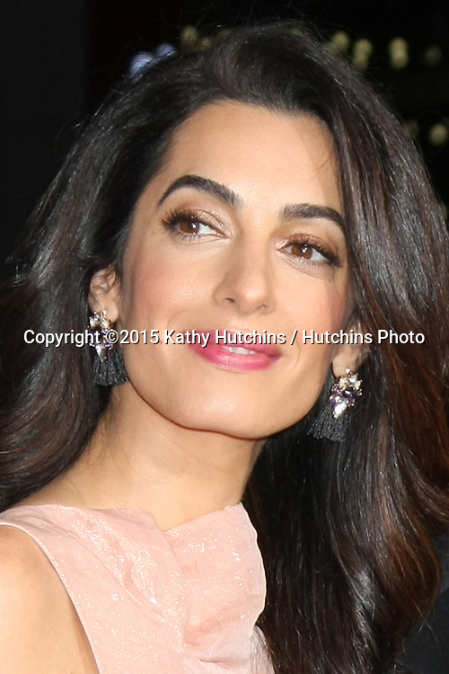 """LOS ANGELES - OCT 26:  Amal Alamuddin Clooney at the """"Our Brand is Crisis"""" LA Premiere at the TCL Chinese Theater on October 26, 2015 in Los Angeles, CA"""