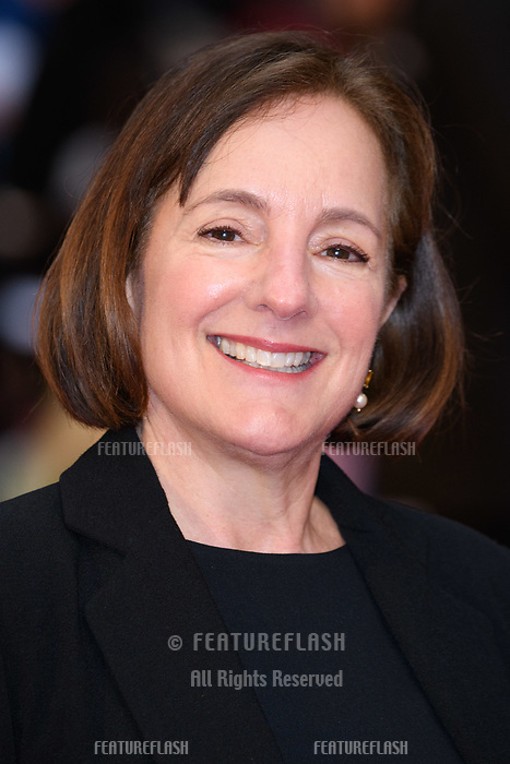 Producer Paula Mazur at 'The Guernsey Literary and Potato Peel Pie Society' film premiere, London, UK. <br /> 09 April  2018<br /> Picture: Steve Vas/Featureflash/SilverHub 0208 004 5359 sales@silverhubmedia.com