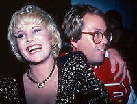 New York, NY<br />1982 <br />Lorna Luft and Allan Carr at Studio 54<br />Credit:  Adam Scull-PHOTOlink/MediaPunch