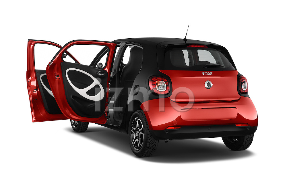 Car images of a 2015 Smart FORFOUR Prime 5 Door Micro Car Doors
