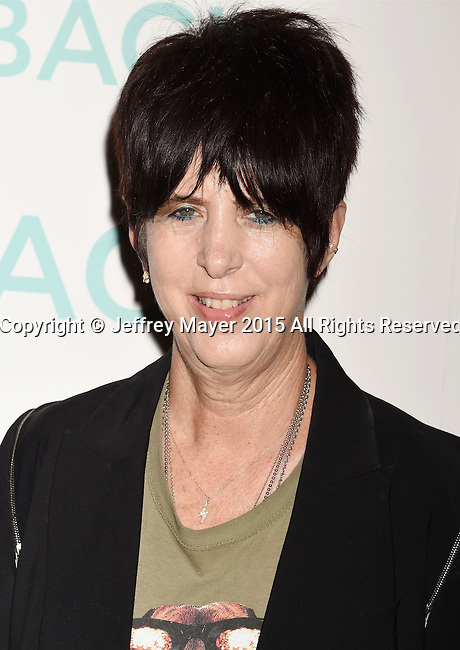 HOLLYWOOD, CA - OCTOBER 21:  Songwriter Diane Warren arrives at the premiere of Broad Green Pictures' 'I Smile Back' at ArcLight Cinemas on October 21, 2015 in Hollywood, California.