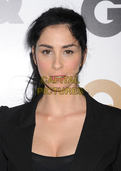 Sarah Silverman.Arriving at the GQ Men Of The Year Party at Chateau Marmont Hotel in Los Angeles, California, USA..November 13th, 2012.headshot portrait black  .CAP/ROT/TM.©Tony Michaels/Roth Stock/Capital Pictures
