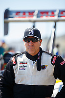 Jul 23, 2017; Morrison, CO, USA; NHRA top fuel driver Gregory Carrillo during the Mile High Nationals at Bandimere Speedway. Mandatory Credit: Mark J. Rebilas-USA TODAY Sports