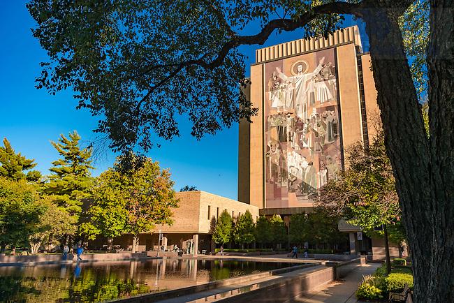 October 10, 2016; Hesburgh Library (Photo by Matt Cashore/University of Notre Dame)
