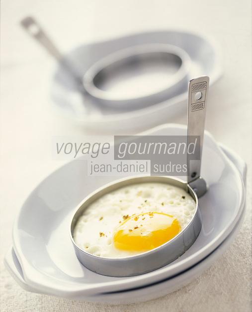 Gastronomie générale / Cuisine générale :  Oeuf miroir