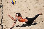 10.05.2015, Muenster, Schlossplatz<br /> smart beach tour, Supercup MŸnster / Muenster, Halbfinale<br /> <br /> Abwehr Katrin Holtwick<br /> <br />   Foto &copy; nordphoto / Kurth