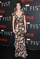 www.acepixs.com<br /> <br /> March 15 2017, New York City<br /> <br /> Jessica Stroup arriving at a screening of Marvel's 'Iron Fist' at the AMC Empire 25 on March 15, 2017 in New York City. <br /> <br /> By Line: Nancy Rivera/ACE Pictures<br /> <br /> <br /> ACE Pictures Inc<br /> Tel: 6467670430<br /> Email: info@acepixs.com<br /> www.acepixs.com