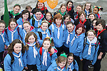 Boyne Valley and Cu Chulainn Guides at the 2011 St.Patrick's Day Parade in Drogheda...(Photo credit should read Jenny Matthews/www.newsfile.ie)....This Picture has been sent you under the conditions enclosed by:.Newsfile Ltd..The Studio,.Millmount Abbey,.Drogheda,.Co Meath..Ireland..Tel: +353(0)41-9871240.Fax: +353(0)41-9871260.GSM: +353(0)86-2500958.email: pictures@newsfile.ie.www.newsfile.ie.