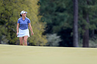 Jennifer Kupcho (USA) walking onto the 18th green during the final  round at the Augusta National Womans Amateur 2019, Augusta National, Augusta, Georgia, USA. 06/04/2019.<br /> Picture Fran Caffrey / Golffile.ie<br /> <br /> All photo usage must carry mandatory copyright credit (&copy; Golffile | Fran Caffrey)