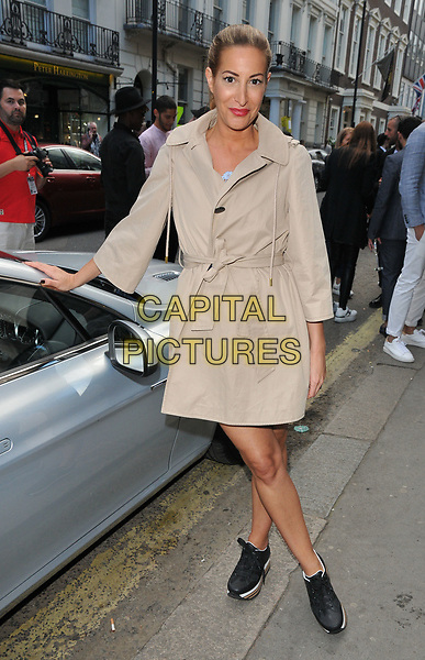 Laura Pradelska at the LFW (Men's) s/s 2018 Aston Martin x Hogan cocktail party, Aston Martin, Dover Street, London, England, UK, on Sunday 11 June 2017.<br /> CAP/CAN<br /> &copy;CAN/Capital Pictures