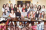 u15 Munster School's Ruby Champions from Colaiste Ide ague Iosef, Abbeyfeale pictured last night celebrating a night out in Leen's Hotel Abbeyfeale.