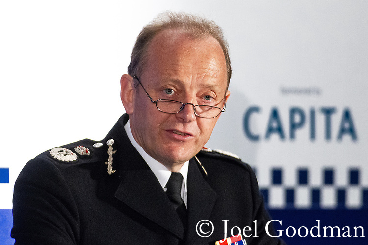 """© Joel Goodman - 07973 332324 . 22/05/2012 .  Manchester , UK . ACPO President SIR HUGH ORDE on a panel at the Association of Chief Police Officers ( ACPO ) """" Leading Change in Policing Conference """" , at the Manchester Central Convention Centre . Photo credit: Joel Goodman"""