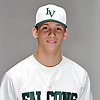 Thomas Eletto of Locust Valley poses for a portrait during Newsday's varsity baseball season preview photo shoot at company headquarters in Melville on Thursday, March 22, 2018.