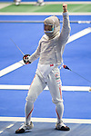 Kota Arai (JPN),<br /> AUGUST 10, 2013 - Fencing :<br /> World Fencing Championships Budapest 2013, Men's Team Sabre Round of 16 at Syma Hall in Budapest, Hungary. (Photo by Enrico Calderoni/AFLO SPORT) [0391]