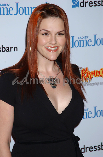 February 2, 2005; West Hollywood, CA, USA; Actor SARA RUE during 'Funny Ladies We Love' hosted by Ladies Home Journal at The Pearl. Mandatory Credit: Photo by Laura Farr/ZUMA Press. (©) Copyright 2005 by Laura Farr